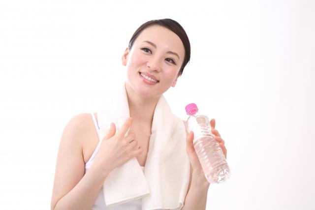 運動後の水分補給