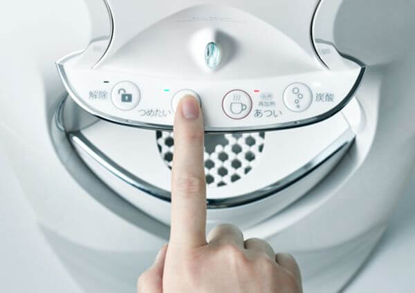 キララの操作ボタン