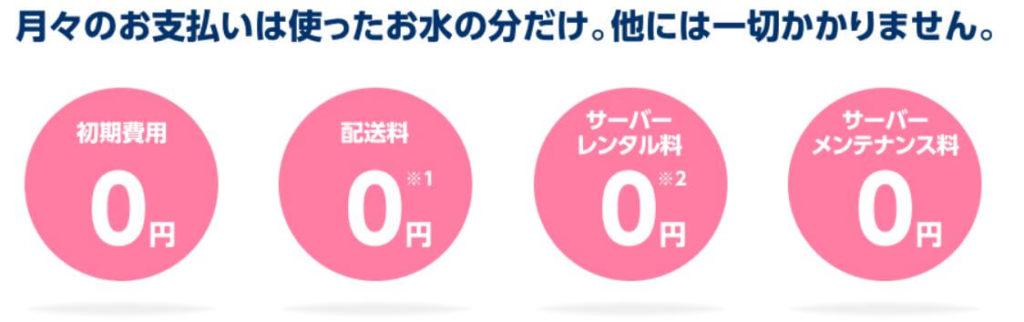 4つの0円